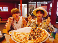 V and Jungkook Twitter August 6, 2017