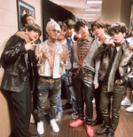BTS and Lil Pump Twitter May 20, 2018