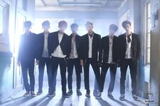 Boy In Luv MV Shooting 24