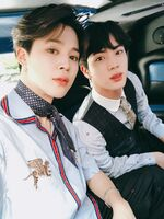Jimin and Jin Twitter May 22, 2018