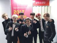 BTS at MMA 2017 Official Twitter Dec 2, 2017 (1)