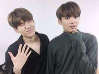 Suga and Jungkook 170729 Weibo