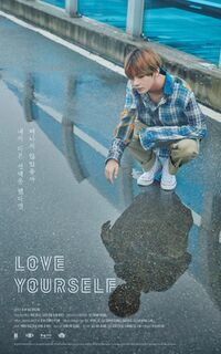 V Love Yourself Teaser Poster