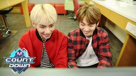 V and Jungkook Mnet Countdown Oct 13, 2016
