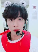 Jin Twitter June 13, 2018