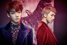 Rap Monster and Jungkook Wings2