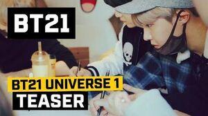 BT21 BT21 UNIVERSE 1 - Teaser