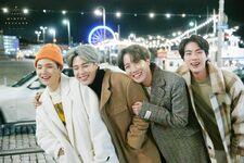Suga, Jimin, J-Hope and Jin Winter Package 2020