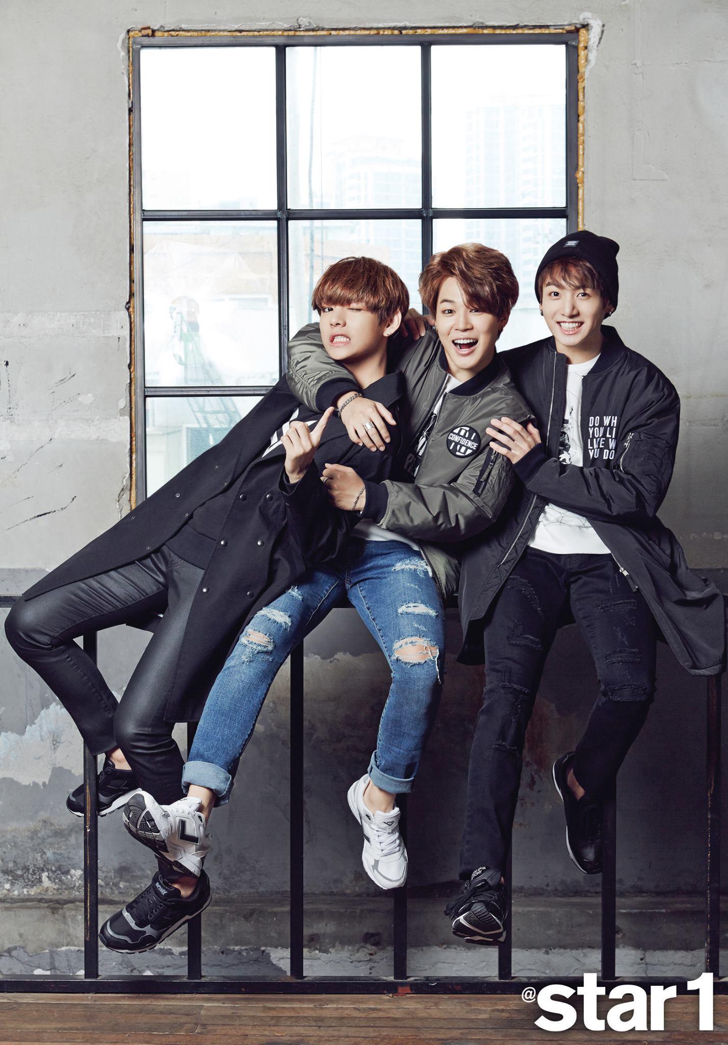 Bts V And Jungkook 2015