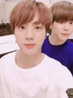 Jin and Jimin Twitter August 21, 2017