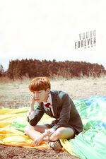 J-Hope Young Forever Wallpaper