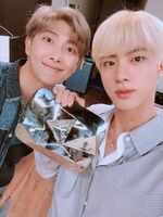 Jin and RM Twitter Aug 16, 2018 (1)