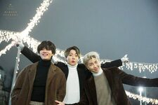 V, Jungkook and RM Winter Package 2020