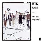 FAKE LOVE Airplane Single Limited Edition C