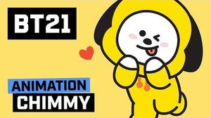 BT21 Hi~ I am CHIMMY