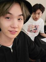 Suga and Jungkook Twitter May 12, 2019