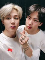 Jimin and Jin Twitter Nov 21, 2018 (1)