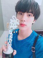 Jin Twitter June 2, 2018 (2)