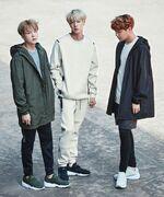 Jin, Suga and J-Hope Puma Bog Sock