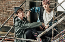 Jin and J-Hope You Never Walk Alone