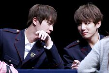 Jin and Jungkook fansign 20170226