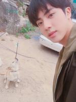 Jin Twitter October 29, 2017 (2)
