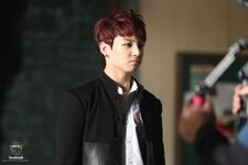 Boy In Luv MV Shooting 11
