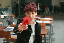 Boy In Luv MV Shooting 16