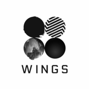 Wings white logo