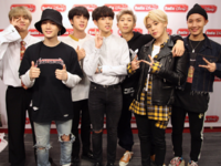 BTS at Radio Disney studio Twitter Nov 21, 2017