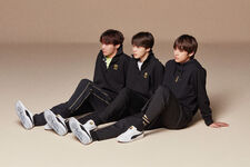 J-Hope, Jimin and V Puma Aug 2018 (1)