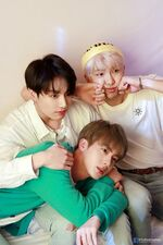 Jungkook, Jin and RM Map of the Soul Persona Shoot (2)