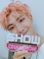 Rap Monster at Show Champion 170927