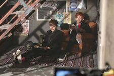 Boy In Luv MV Shooting 20