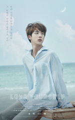 Jin Love Yourself Teaser Poster (2)