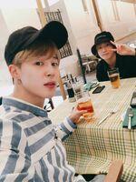 Jimin and Jungkook Twitter Oct 14, 2018 (1)