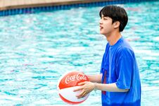 Jin Coca Cola Korea Aug 2018