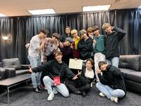 BTS and TXT Twitter May 12, 2019