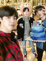 Jimin, Suga and Jungkook Twitter May 4, 2018