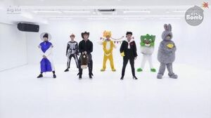 BANGTAN BOMB BTS (방탄소년단) '21세기 소녀 (21st Century Girl)' Dance Practice (Halloween ver
