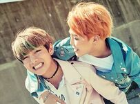 Jimin and V TMBMIL P2 Peach1