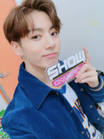 Jungkook at Show Champion 170927