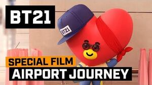 BT21 BT21's Airport Journey - TATA