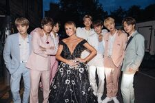 BTS and Amanda Holden Twitter May 30, 2019