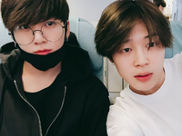 Jungkook and Jimin Twitter Apr 13, 2018