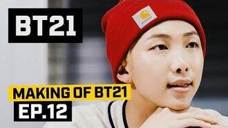 BT21 Making of BT21 - EP.12