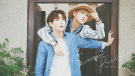 V and Jungkook Summer Package 2016 Wallpaper