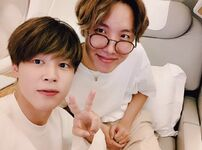 Jimin and J-Hope Twitter October 9, 2019
