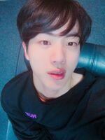 Jin Twitter Oct 15, 2017