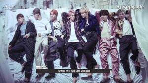 EPISODE BTS (방탄소년단) 'WINGS' Jacket Shooting Sketch